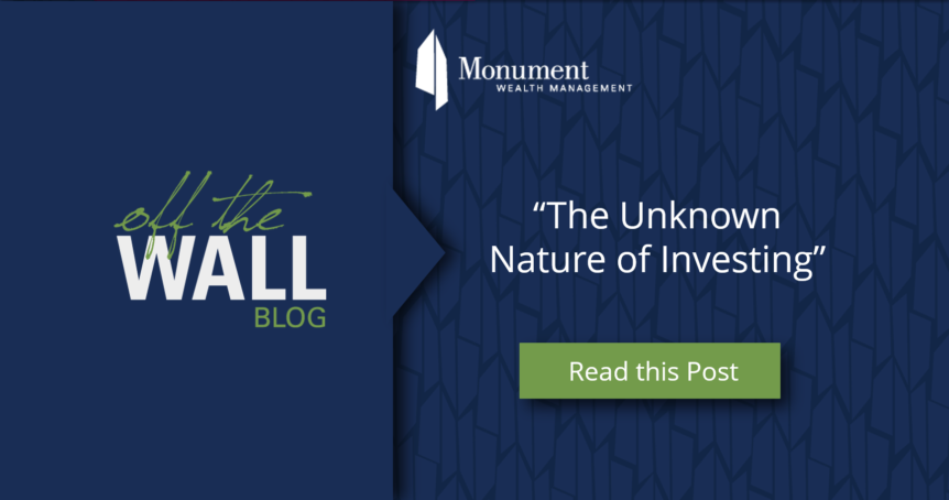 The Unknown Nature of Investing