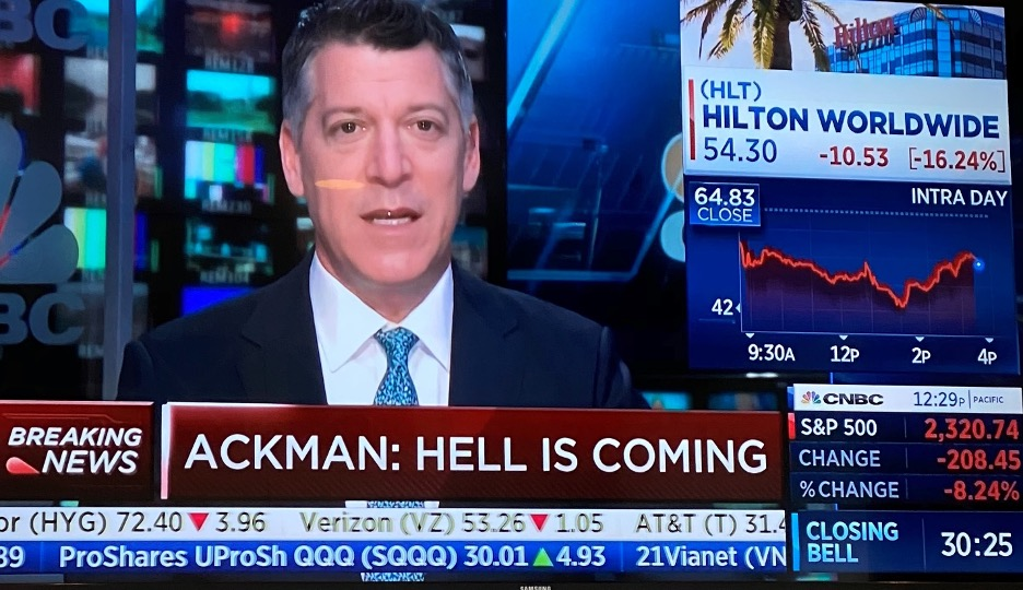 Ackman Hell is Coming News
